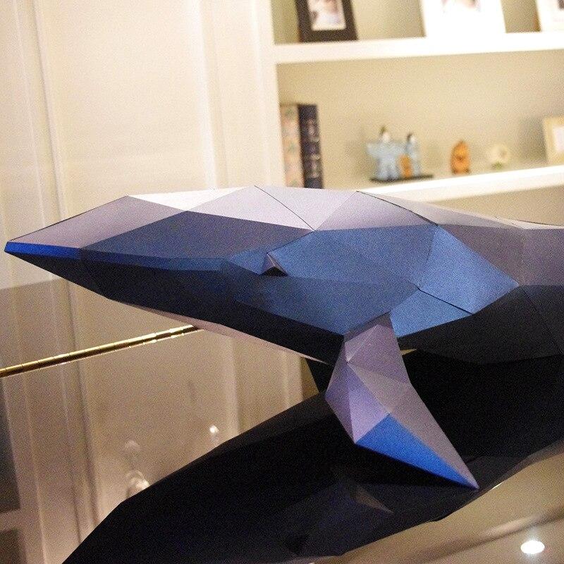 3D головоломки детские игрушки выгодно мудрость Diy Бумага качество Модель Руководство трехмерная Бумага Модель-КИТ (12 страниц)