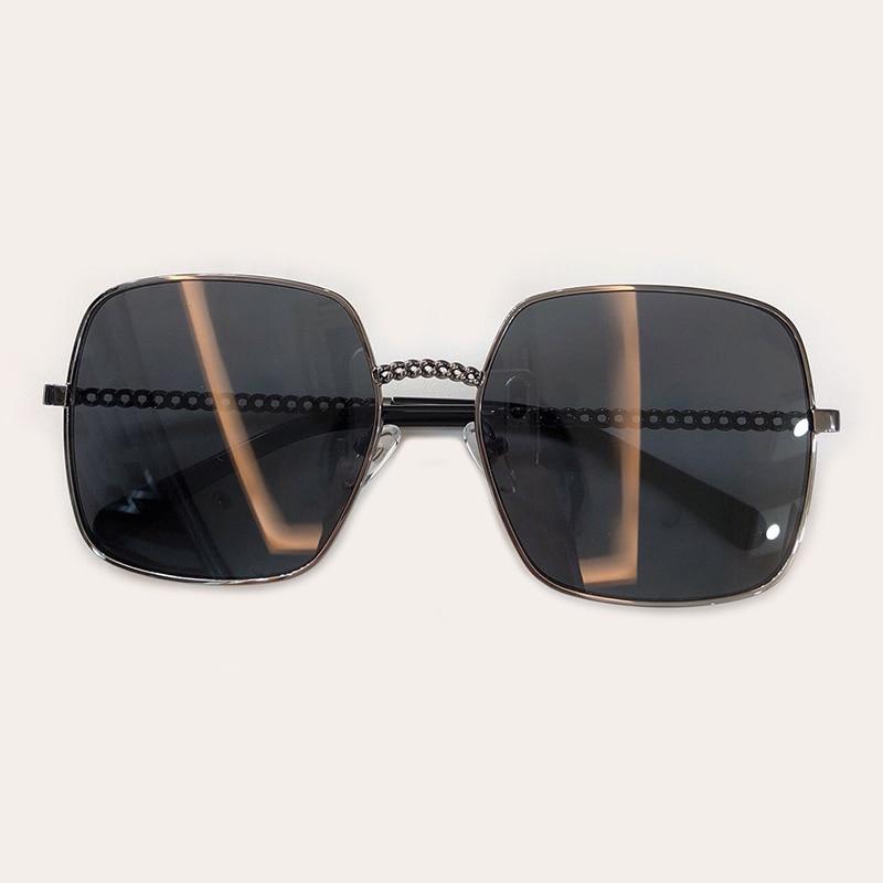 Oculos Feminino no Square De 3 Schutz 2 Sonnenbrille 5 1 no Kette Frauen No Uv400 no Polarisierte 4 no no 6 no 7 Sol Fashion Mit 8PwqqB
