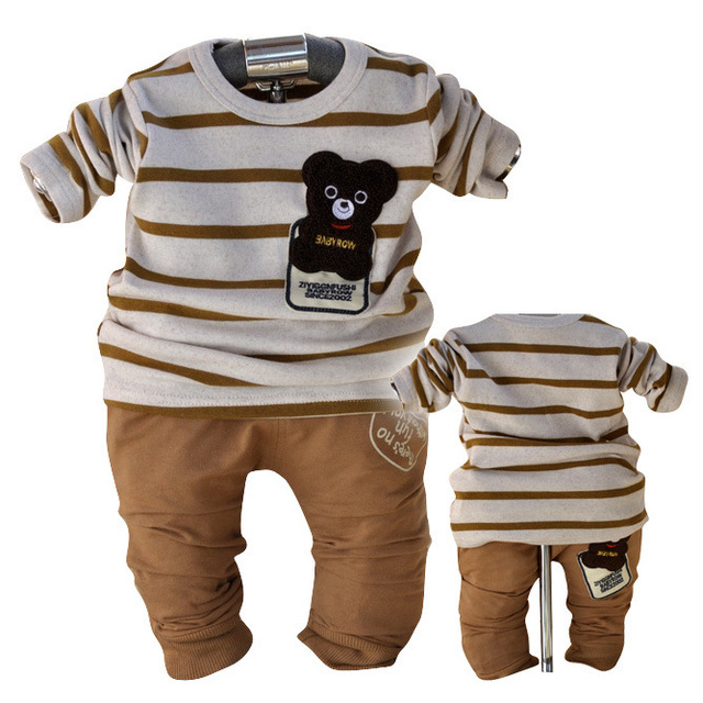Free shipping!! Retail one set baby boys fashion smile face clothing sets  casual cotton sets 2 color 3 size 80 85 90