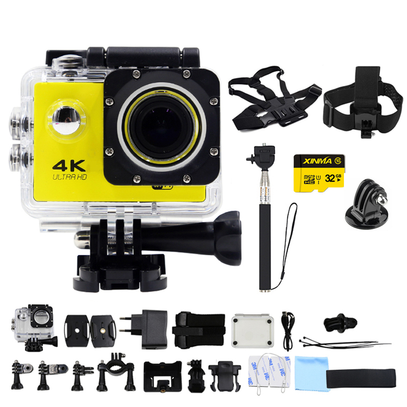 Ultra HD 4 K $ number fps cámara de Acción 1080 P 60fps WiFi Mini Cámara 2.0 LCD