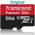 Original Real Transcend 16GB 32GB 64GB MicroSD MicroSDHC MicroSDXC Micro SD Card SDHC SDXC 45MB/S class 10 UHS-1 TF Memory Card