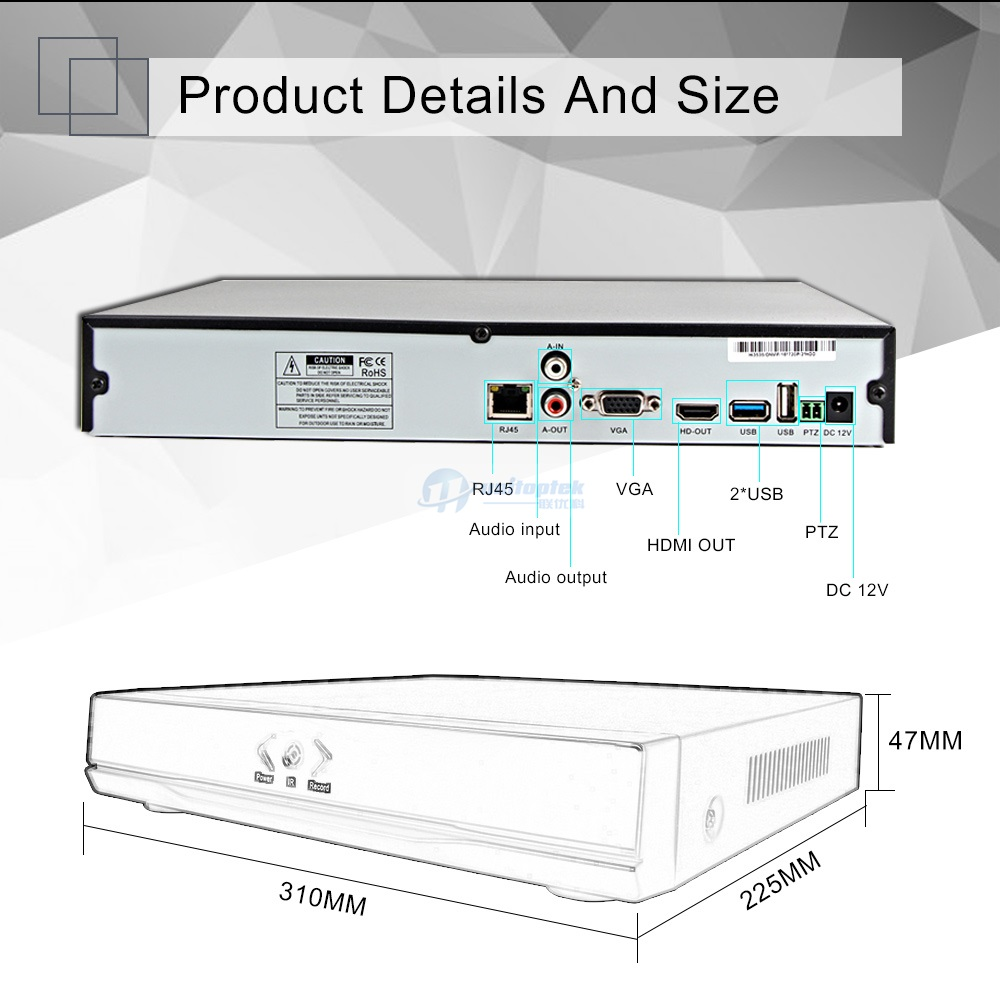 24ch Nvr 1080p Or 32ch 960p 16ch 3mp 8ch 5mp Network Peugeot 206 Wiring Diagrams Rear Windows Heated Window Features 1with H264 High Efficiency Video Compression 2support 4ch Playback 3with Unique Time Screen In Front Of The Panel And Displays Recorder