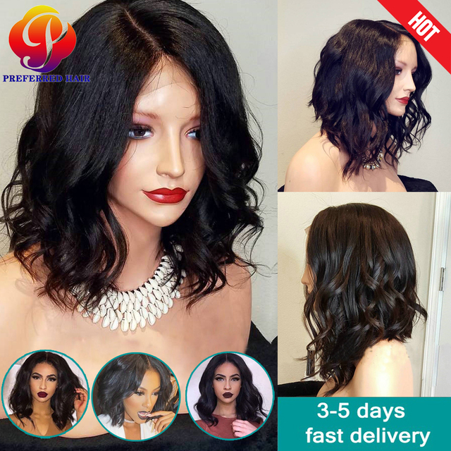 Pixie Cut Human Hair Wigs Lace Front 100 Human Hair Wigs For