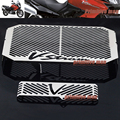 For SUZUKI DL 650 DL650 V-Strom 2004-2010 Motorcycle Accessories Radiator Grille Guard Cover Protector & Oil Cooler Protector