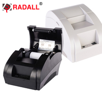 Free Shipping 5890K 58mm Thermal Printer 58mm Thermal Receipt Printer USB POS Printer For Restaurant And
