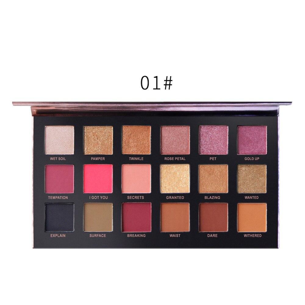 Discreet 18color Eyeshadow Palette Shimmer Matt Eye Shadow Makeup Eyeshadow Cosmetics Professional Health & Beauty Cosmetic 2019 Fashion Beauty & Health Eye Shadow