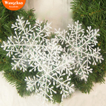 30 PCS/LOT 11CM Frozen Snowflake Christmas Tree Decoration For Home Ornaments Deals