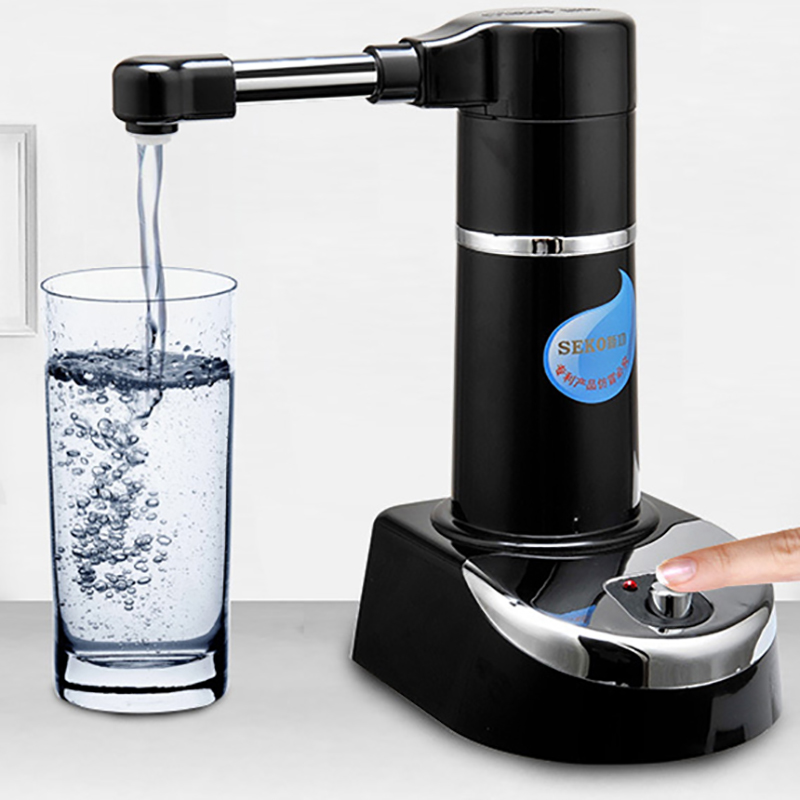 Bottled Water Dispenser Pump Electric Automatic Drinking Water Pressure Pump Suction Drinkware Tools with Filter