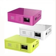 UNIC UC50 Mini DLP LED Proyector HDMI 1080 P FHD 50 ANSI LM de Cine En Casa Proyector Multimedia Reproductor de Vídeo AV USB TF