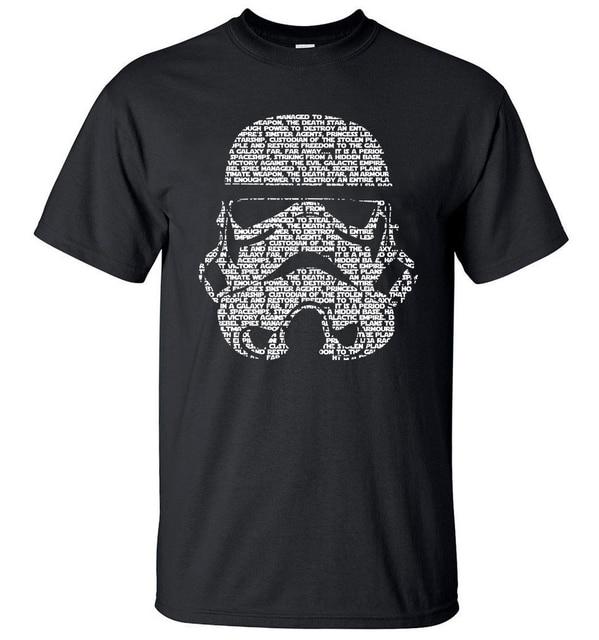 Camisa dos homens T de Moda Verão 2019 de Star Wars Yoda/Darth Vader Streetwear T-Shirt dos homens Camisas Casual T Máscaras palavras Topos de Hip Hop Tee