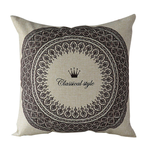 6 patterns Vintage Floral Cotton Linen Throw Pillow Case Cover Bed Decorative Cushion Home Office Pillowcase Pillowslip