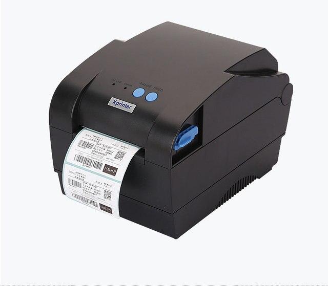 Высокое качество Xprinter XP-360B тепловой принтер этикеток Тепловой штрих-код принтер для Ювелирных Изделий, одежда тег