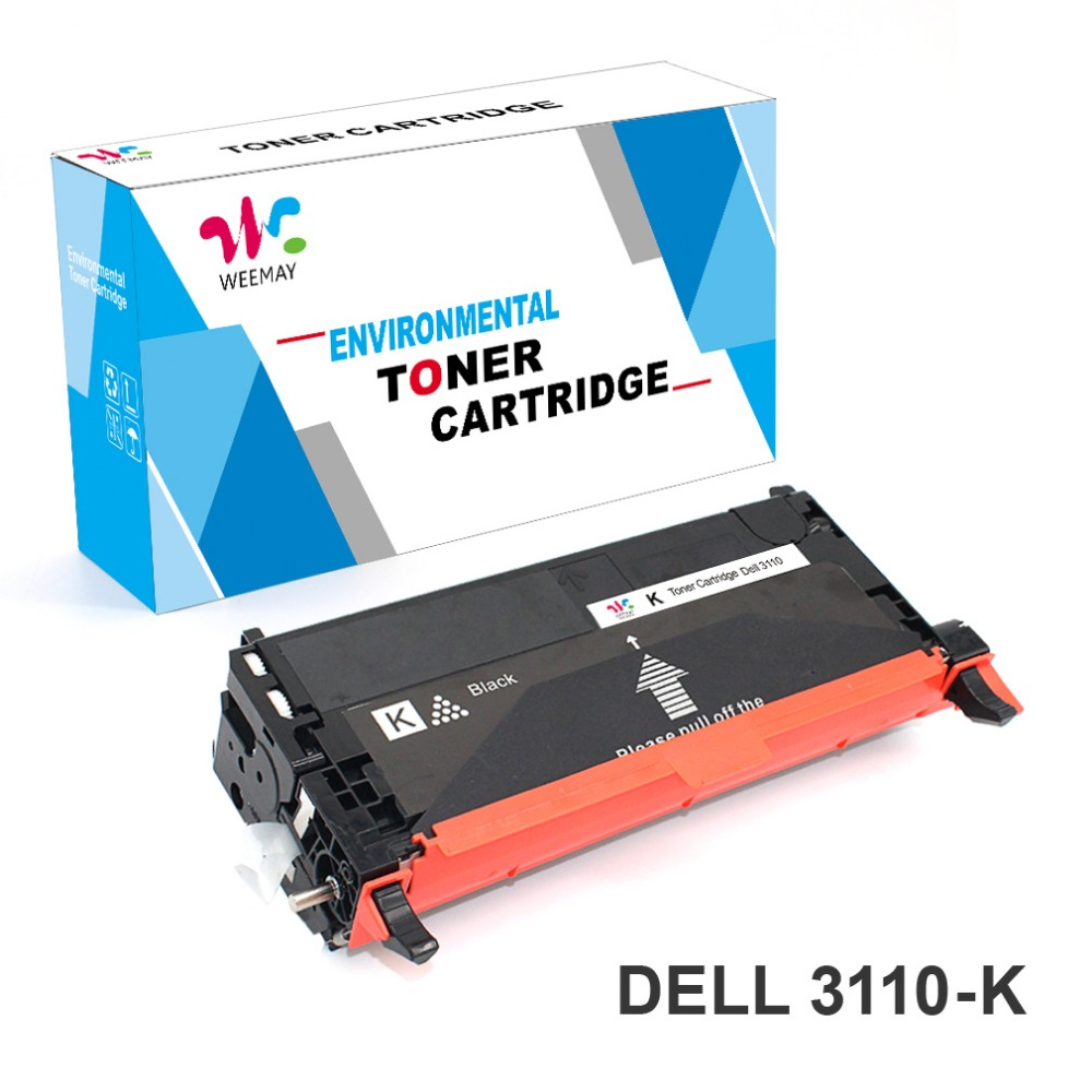 Remanufactured High Quality 3110 Toner cartridge compatible for Dell 3110 3130 3115 printer with Fuji Opc Made in Japn tcd 3110 compatible toner printer cartridge for dell 3110cn 3115 310 8094 310 8096 310 8098 310 8092 593 10170 593 10171 kcmy