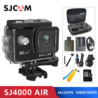 Original SJCAM SJ4000 AIR 4K Action Camera Full HD Allwinner 4K WIFI 2.0 Screen Mini Helmet Waterproof Sports DV Camera