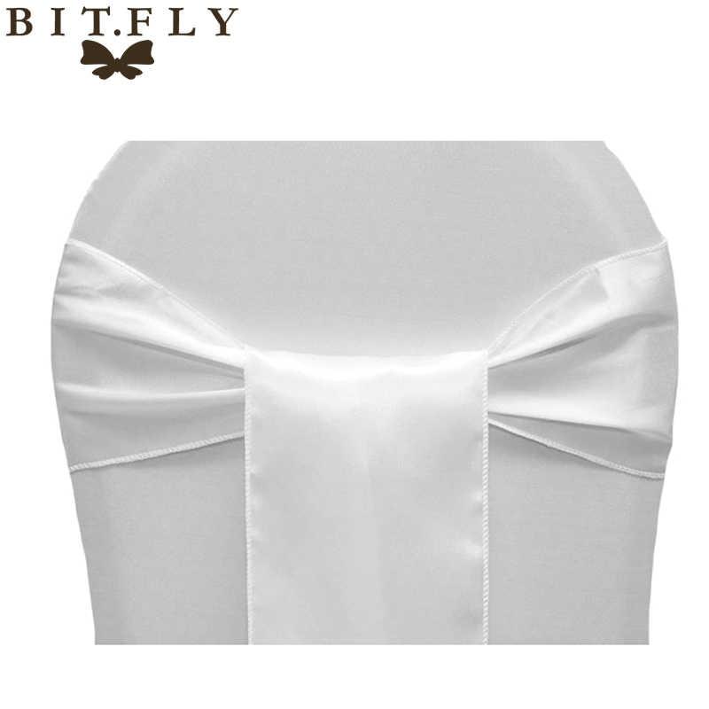 Бит. FLY 6x108 дюймов атласный тканевый ленты для свадебных стульев банты высокие высококачественные стулья узел украшения для свадебной вечеринки банкетные принадлежности