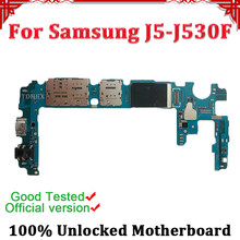 Disassemble 100% Unlocked Dual SIM/Single SIM Card Logic Main Board For Samsung Galaxy J5 J530F Motherboard With Full Chips(China)