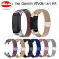 Replacement Milanese Magnetic Strap for Garmin Vivosmart HR Watch Band Stainless Steel Band for Vivosmart HR Bracelet With Tool