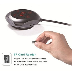 Image 2 - Transmisor FM magnético de 5MM para coche, reproductor de MP3 Bluetooth, cargador Dual para coche, pantalla LED, estéreo, frecuencia PLL Digital para Iphone