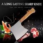 Фирменный кухонный нож из нержавеющей стали 40Cr13, разделочный нож для Кливера, инструмент для приготовления пищи, прекрасная Подарочная коробка, нож для мясника с деревянной ручкой - 1
