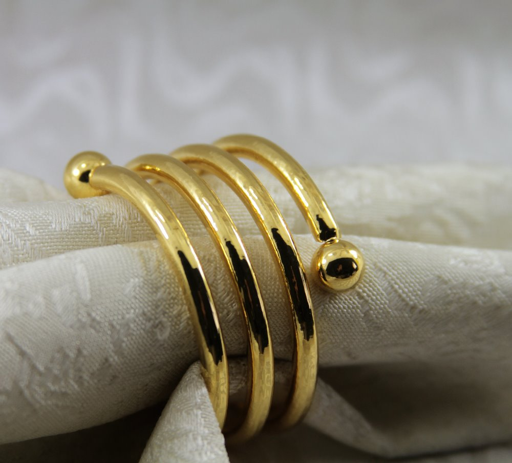 qn17031623 gold silver metal spiral napkin rings wedding wholesale, napkin  holder,-in Napkin Rings from Home & Garden on Aliexpress.com | Alibaba Group