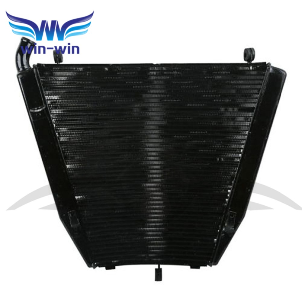 Motorcycle Cooler  Aluminium Replacement Radiator Grille Guard for Honda CBR1000RR CBR 1000RR 06 07 2006 2007 arashi motorcycle radiator grille protective cover grill guard protector for 2008 2009 2010 2011 honda cbr1000rr cbr 1000 rr