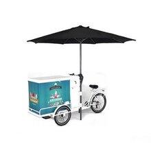 Горячая продажа Бесплатная доставка морским золотым мягким твердое мороженое ролл машина с тремя различными вкусами и функцией радуги