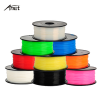 ABS 1.75mm 1Kg/spool Plastic Staaf Rubber Lint Verbruiksartikelen Materiaal Vullingen voor MakerBot/RepRap/UP/Mendel 3D Printer Filamenten