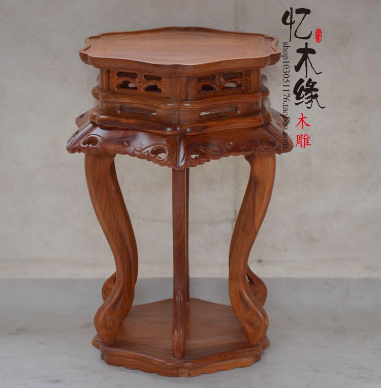 Rosewood mahogany wood a few large flower flower flower stands tall mahogany padauk furniture карликовое дерево large orchid flower 20 sementes semente yd34e