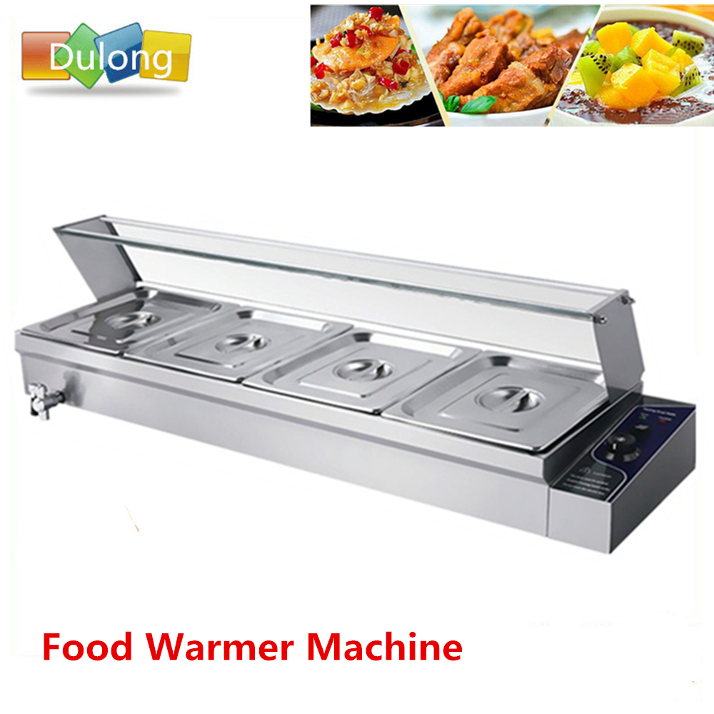 Commercial industrial food warmer equipment food buffet countertop catering tools bain marie warming machine