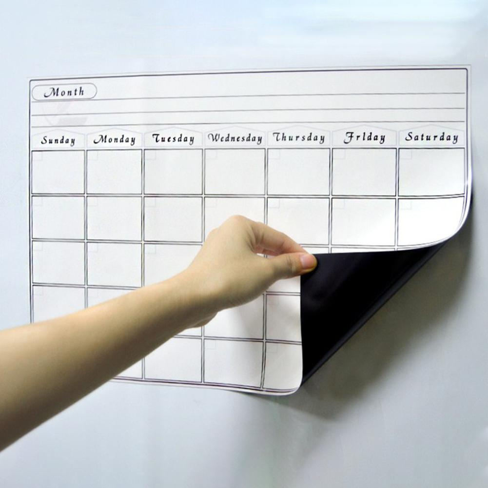 None Magnetic Board A3 30*42cm Soft Magnetic WhiteBoard Erase Drawing Recording Board For Fridge R20