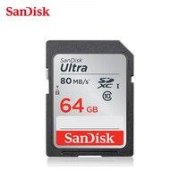 SanDisk SDXC 64gb SD Card UHS I Memory Card sd card Cartao de Memoria 64 gb for Nikon Sony Samsung Canon Digital Sport Camera