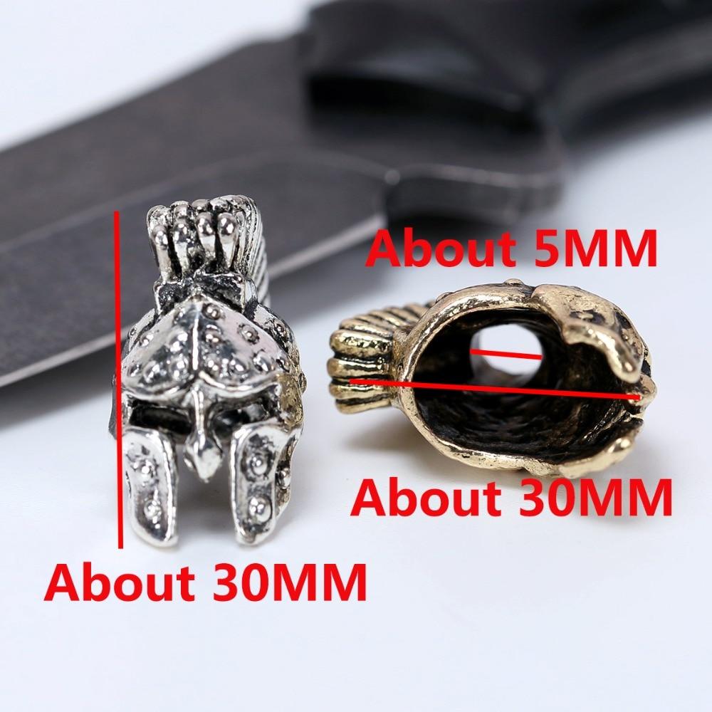 Paracord Beads Metal Charms Skull Voor Paracord Bracelet Accessories - Kamperen en wandelen - Foto 2
