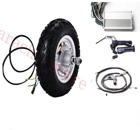 10 800W 24v disc brake electric motor font b scooter b font electric font b scooter