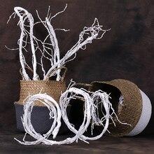 artificial trees branches plastic tree branch decoration Hanging Rattan flexible flower vine Wedding Decor