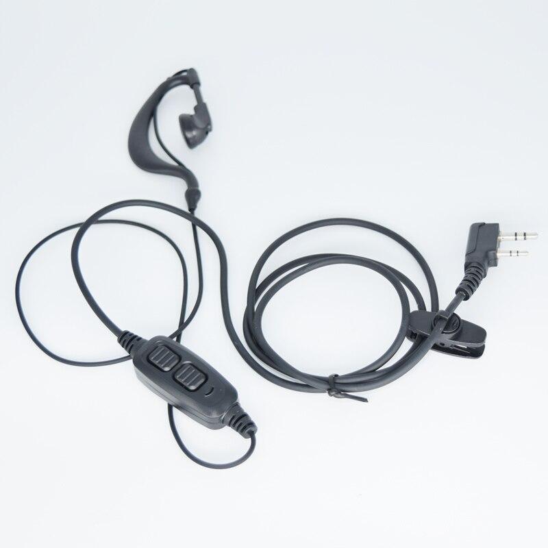 bilder für Original Walkie Talkie Baofeng Uv-82 Headset Micphone mit Doppel Ptt-taste