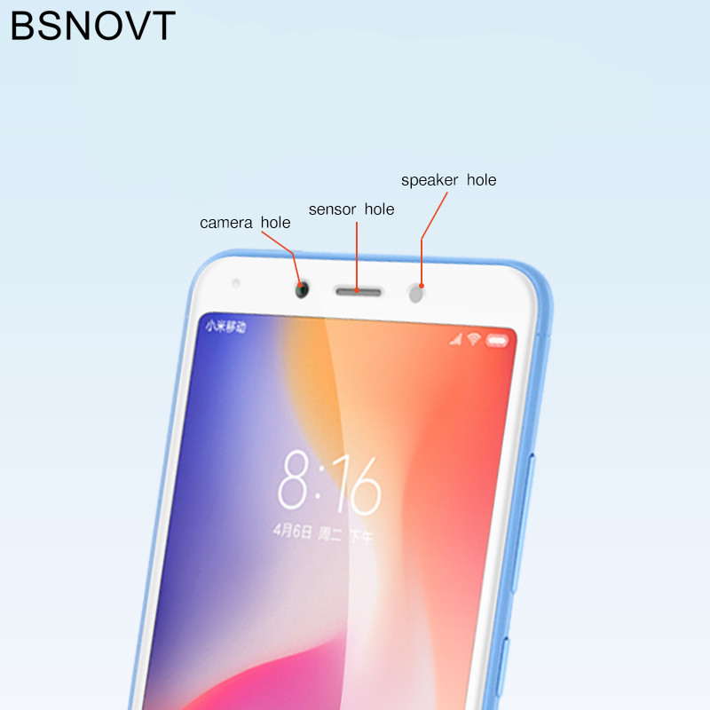 2pcs Screen Protector Xiaomi Redmi 6A Glass Tempered Glass For Xiaomi Redmi 6A Full Coverage Glass Redmi 6A Phone Film BSNOVT