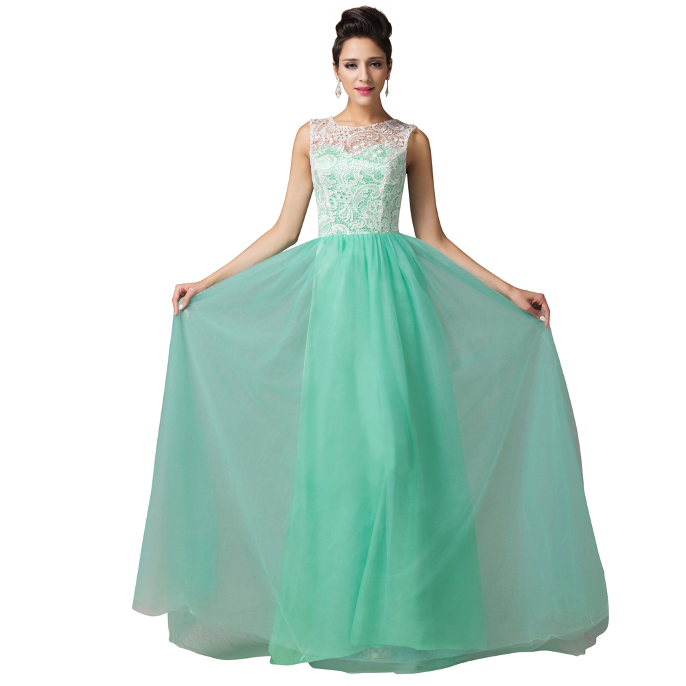 Modern Green And White Dress For Party Embellishment - All Wedding ...