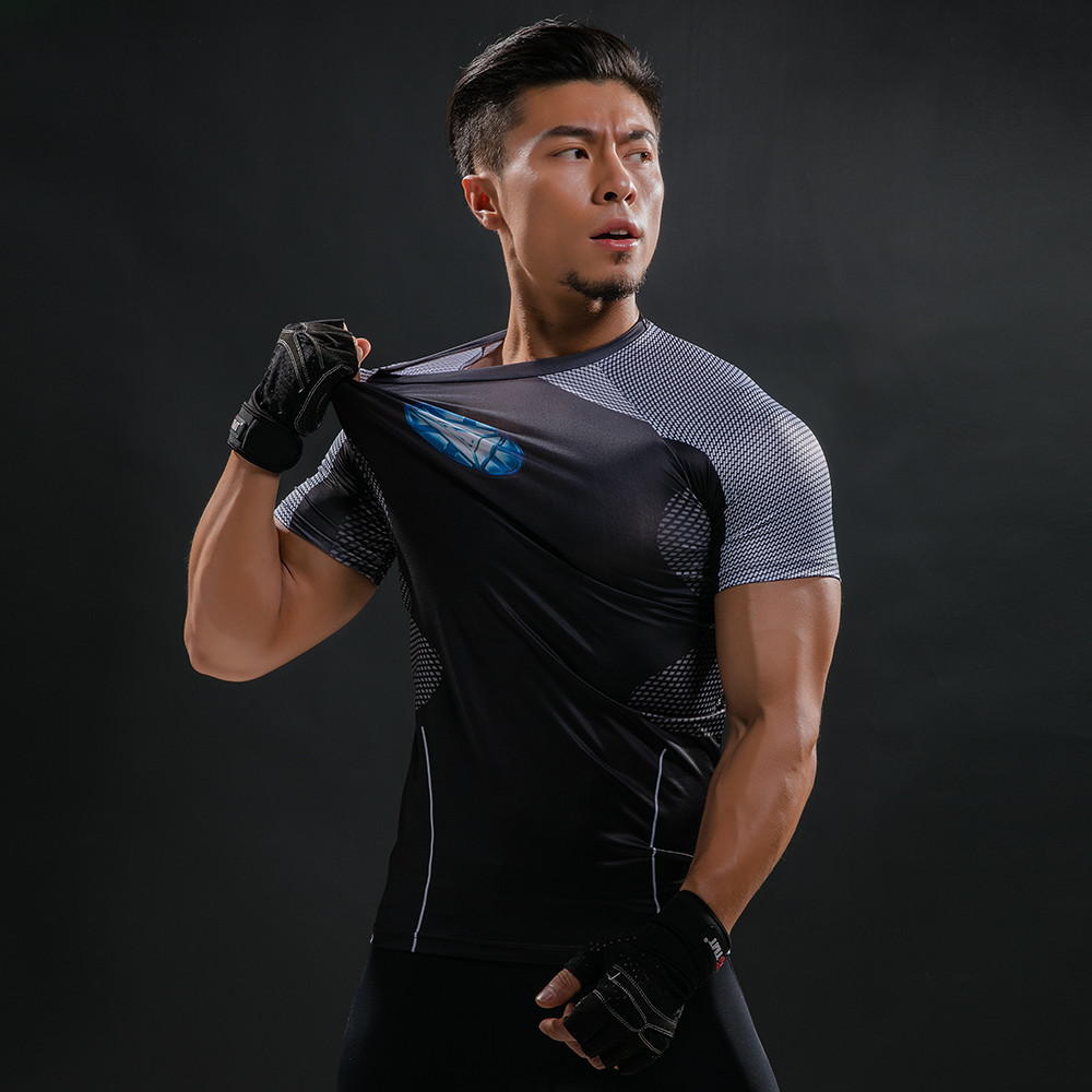 Punisher 3D Printed T-shirts Men Compression Shirts Long Sleeve Cosplay Costume crossfit fitness Clothing Tops Male Black Friday 77