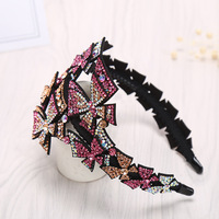 Sweet Girl Butterfly Hair Accessories Refresh Exquisite Rhinestone Flower Hairhands for Women Fashion Full Diamond Headdress