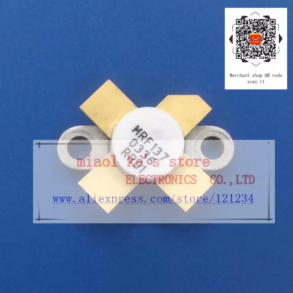 MRF137  mrf137 [ 65V 5A 30W 400MHz ] - High-quality original transistorMRF137  mrf137 [ 65V 5A 30W 400MHz ] - High-quality original transistor
