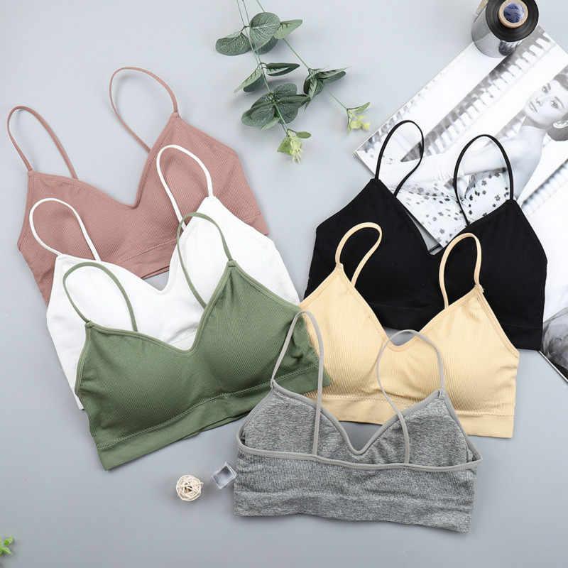 Chrleisure Elastis Mengumpulkan Bralette Push Up Bra Musim Panas Anti-Light Korea Liar Bra Tabung Atas Seksi Tidak Ada Rims bra