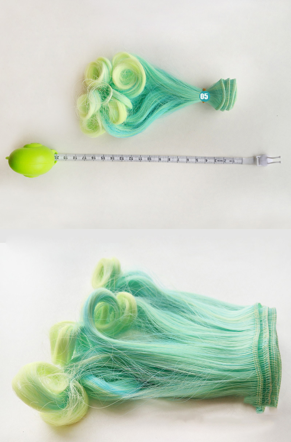 Fashion 20100cm DIY Curls Tresses Doll Wig High-Temperature Material Hair Wig For BJD And Handmade Toy Doll Accessories (4)