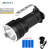 LED Flashlight 18650 Battery CREE XM L2 Aluminum Light Cup Long Range 500 800 M Outdoor