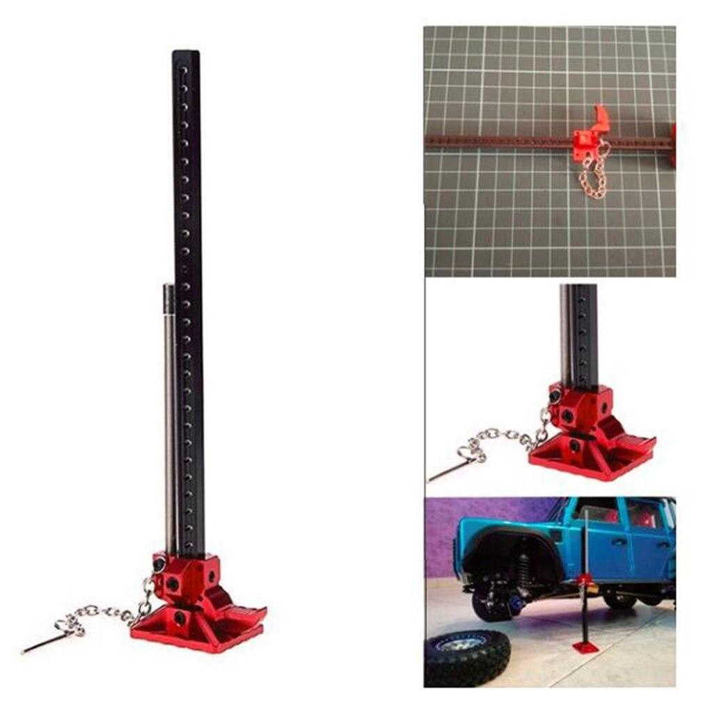 RC Rock Crawler Slideable Metal Jack herramienta 1:10 accesorios para Axial SCX10 TAMIYA CC01 RC4WD D90 D110 TF2 camión RC coche piezas de juguete