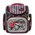 ПРОХЛАДНЫЙ марка автомобиля большая емкость дети студенты Складной мешок школы мальчиков водонепроницаемый дети рюкзак ребенок Канцелярские сумки