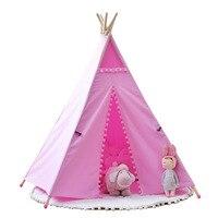 Индийский палатка детский Крытый негабаритных игра дом Детские спальные палатки дома INS Лидер продаж декоративные дети учатся читать углу