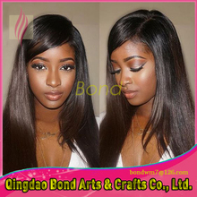 Glueless Full Lace Human Hair Wigs For Black Women Brazilian Virgin Hair Full Lace Wigs Straight Lace Front Wig With Baby Hair