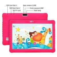 SANNUO Дети Tablet Рождественский подарок 10,1 дюймов 1 + 16 ГБ Android 6,0 детский развлекательный обучения Google игры, подарки для детей (розовый)
