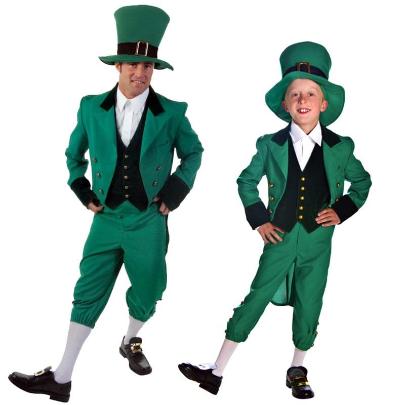VASHEJIANG Новинка! Зеленые Детские костюмы духов, мужские костюмы для косплея, костюмы на Хэллоуин для детей, мужские костюмы костюмированная игра