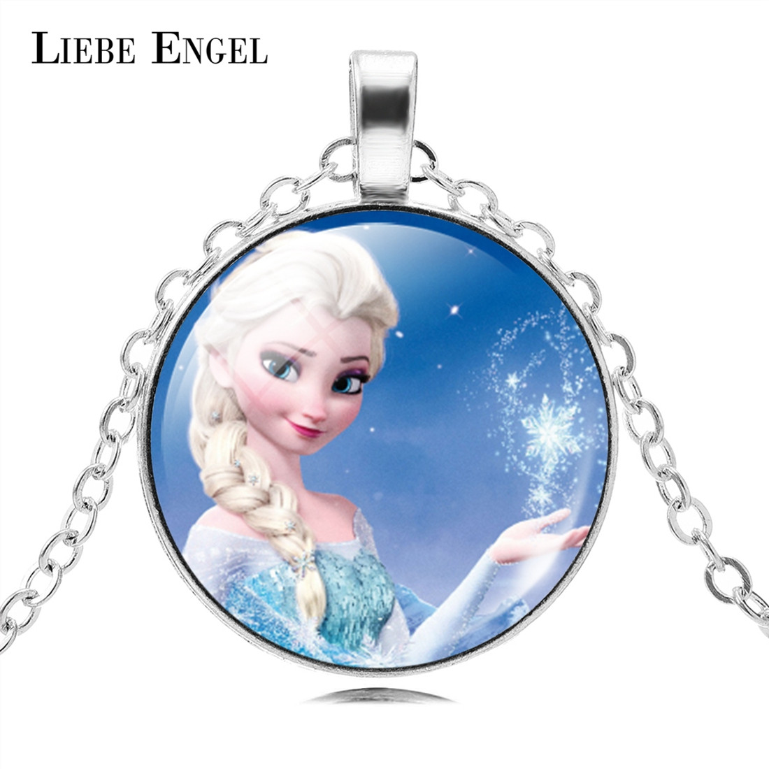 LIEBE ENGEL The Long Chain Jewelry Neckls
